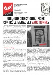 tract controle unil