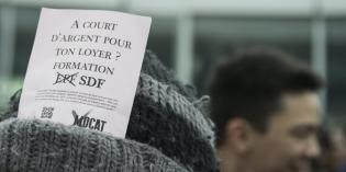 Jeu de tartuffes : le PS et l'UDC font les poches des étudiant-e-s  et renforcent la division sociale