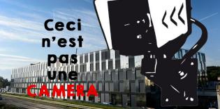 Caméra sur le bâtiment de Géopolis – UNIL