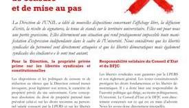 Directive 5.4 : agir contre une politique de censure et de mise au pas