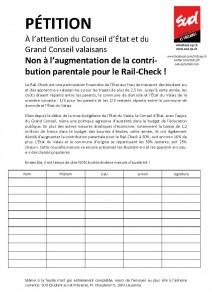 pétition - Rail-Check
