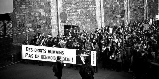 Manifestation 12 mars à 13h30 contre les accords de Dublin