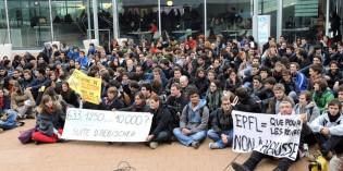 Doublement des taxes d'études à l'EPFL: nous ne serons pas des vaches à lait pour les cadeaux fiscaux aux gros actionnaires!