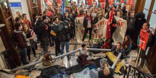 Communiqué de soutien avec les occupations en Belgique