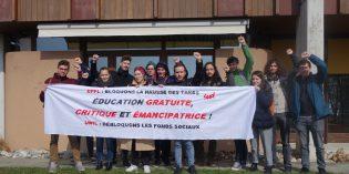 Votation sur le fonds de solidarité étudiant : NON à la baisse !