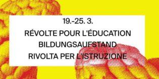 Semaine d'action et manif nationale pour l'éducation
