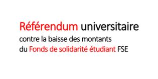 Référendum : feuille de signatures