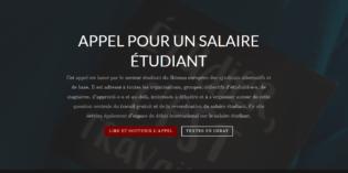 Un appel européen pour un salaire étudiant