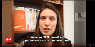 VIDEO : On vote NON à la baisse du FSE!